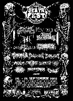 : HardTicket NRW Deathfest-The 16th Gathering - Samstagsticket