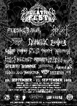 : DEATHFEST 2018 - The 15th Attack - Ticket Friday