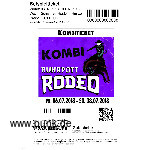 : Kombi-Ticket Ruhrpott Rodeo 2018