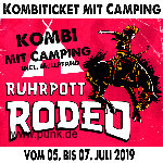 Kombi-Ticket inkl Camping Rodeo 2019