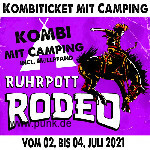 : Kombi-Ticket inkl. Camping Rodeo 2021