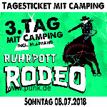 : Sonntags-Ticket Ruhrpott Rodeo mit Camping