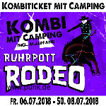 : HardTicket Kombi-Ticket-inkl. Camping Rodeo 2018