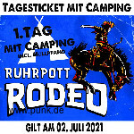: Freitagsticket inkl. Camping - Ruhrpott Rodeo