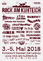 : Rock am Kuhteich 2018 - 3 Tage inkl.Camping und 5 Euro Müllpfand